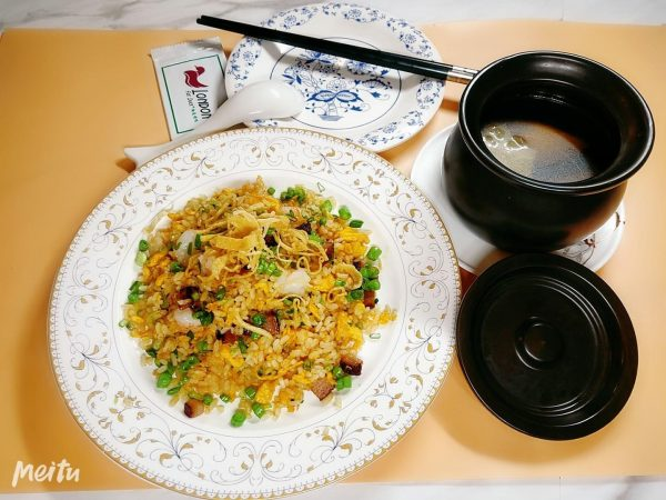 london duck signature fried rice